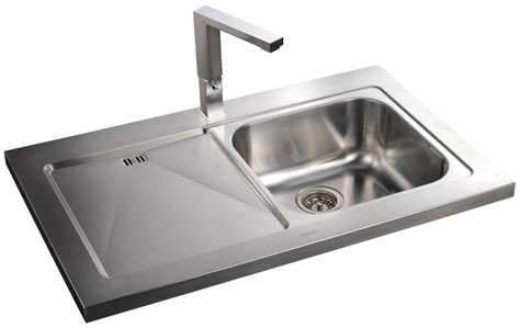 sit on kitchen sink rangemaster mezzo 1 0 single bowl sit on stainless steel