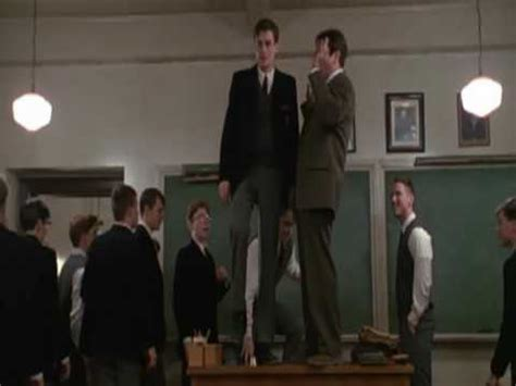 dead poets society standing on desks on dead poets society 171 the dish