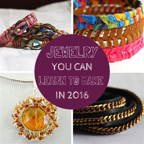 Jewelry You Can Learn To Make In 2016 Craft Paper Scissors