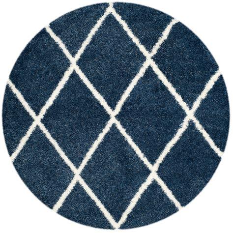 rugs montreal blue white lattice shag montreal collection safavieh