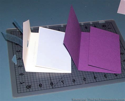 how to make a tri fold card handmade card idea how to make a unique tri fold card