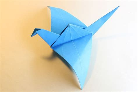 origami flying how to make an origami flying bird paper