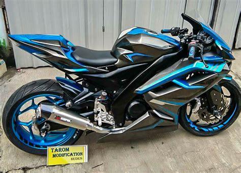 Motor Modifikasi Vixion by Modifikasi Yamaha Vixion Berubah Menjadi Cbr250rr
