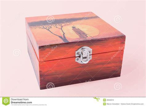 decoupaged boxes decoupaged box stock photo image 26559310