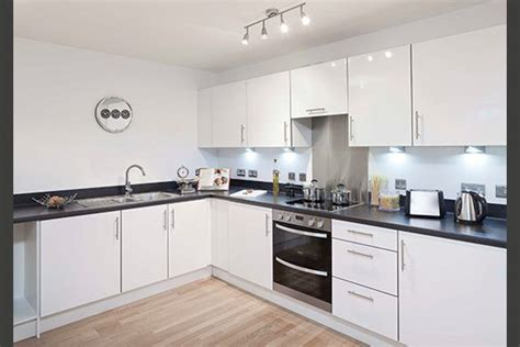 glossy white kitchen cabinets specification kitchens manhattan fitted kitchen with