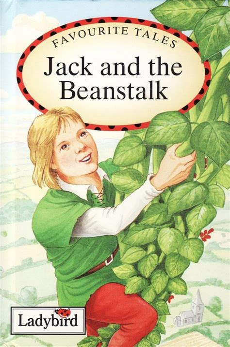 the beanstalk picture book and the beanstalk ladybird books favourite tales