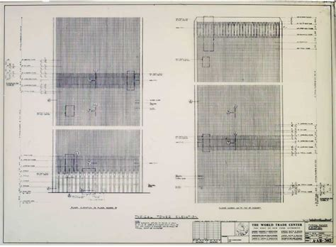 world trade center blueprints world trade center architectural drawings new york e