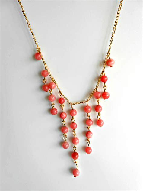 statement beaded necklace diy statement beaded bib necklace