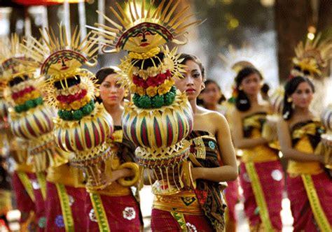 festival painting indonesia bali festival