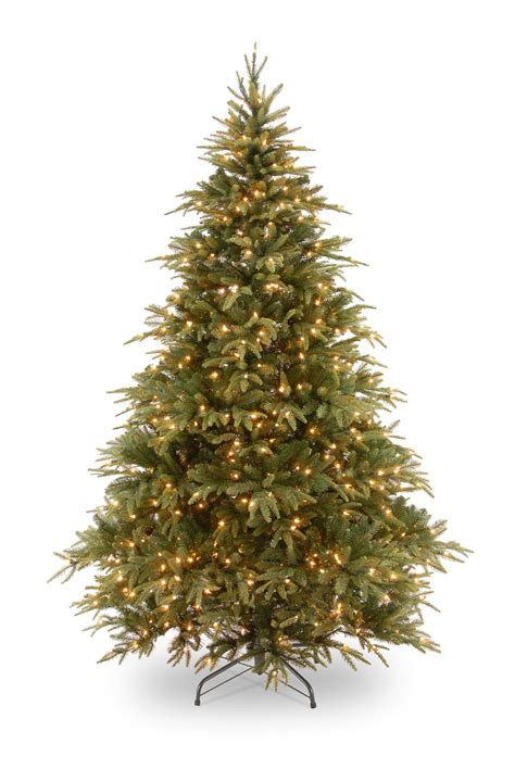 artificial lit trees 8ft pre lit weeping spruce feel real artificial