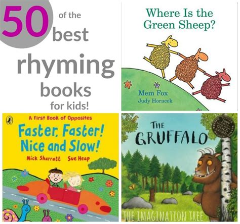 best rhyming picture books 50 of the best rhyming books for the imagination tree