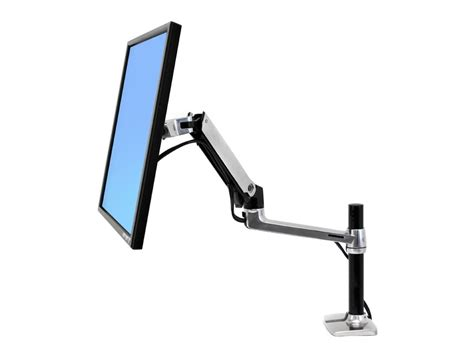 lx desk mount lcd arm ergotron lx pole desk mount lcd monitor arm