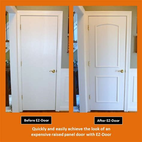 Bedroom Door Repair Innovative New Ez Door Transforms Interior Doors Quickly