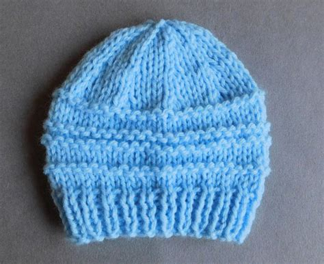 tiny baby hat knitting pattern day baby hat allfreeknitting