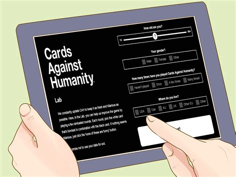 how to make cards against humanity how to play cards against humanity 13 steps with pictures