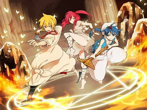 magi labyrinth of magic anime review magi the labyrinth of magic anime and