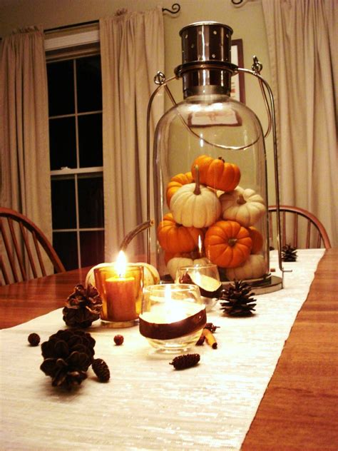 small table decorations 30 festive fall table decor ideas