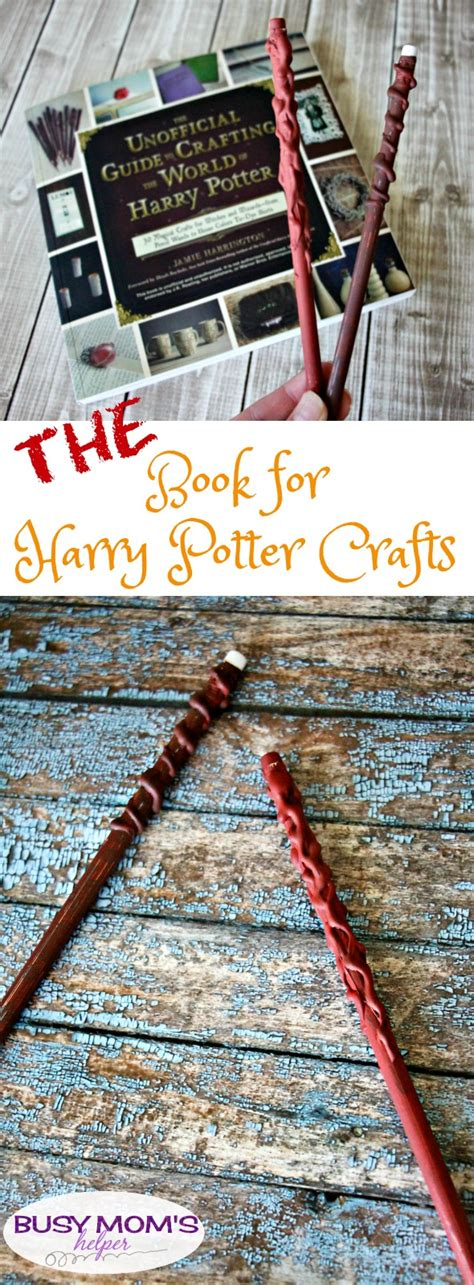 harry potter crafts for the book for harry potter crafts a giveaway busy