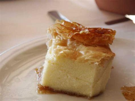 galaktoboureko dessert grec 224 base de semoule et de p 226 te filo