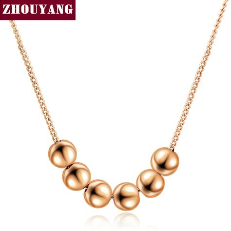 small necklace aliexpress buy small bead gold color