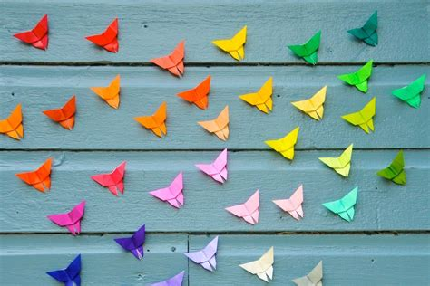 origamy butterfly origami butterfly make it for a simple sweet souvenir