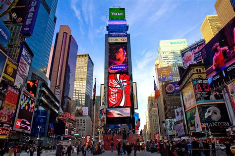 times square new york times square tourism places