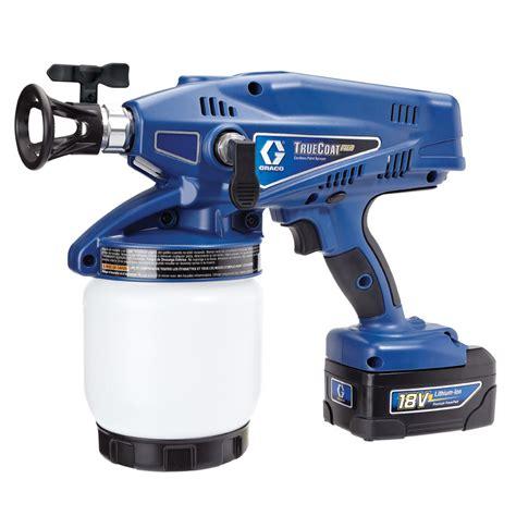 paint spray zoom plus shop graco truecoat plus cordless airless handheld paint