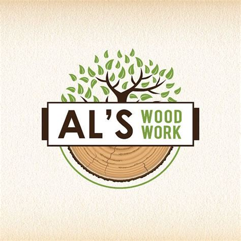 woodworking logos tree logo wood logo design woodworking logo forestry