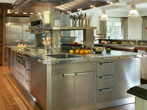 stainless cabinets kitchen stainless steel kitchen cabinets pictures options tips ideas hgtv