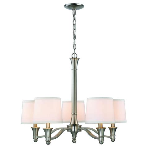 chandeliers at home 8 light chandelier in brushed nickel circolo collection