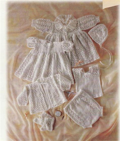 heirloom knitting baby knitting pattern nostalgic heirloom layette carrying