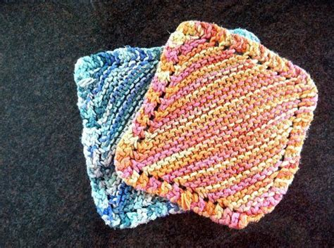 knitted washcloths knit washcloth pattern a great use for my random remains