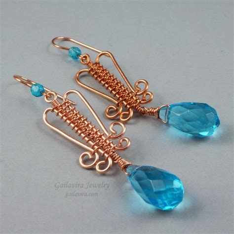 patterned wire for jewelry these 7 wire weaving patterns will wow you