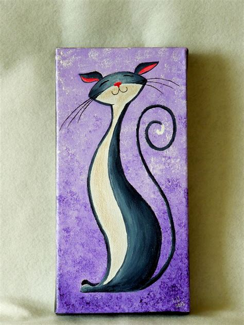 simple cat painting pictures cat painting page 7 naturelands