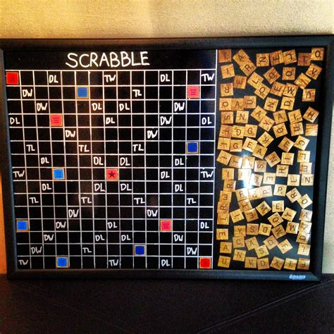 for scrabble magnetic scrabble board for the wall for the