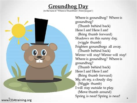 groundhog day play groundhog day theme 123 play and learn child care