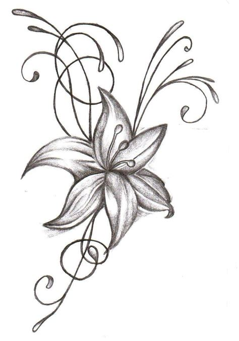 flowers designs black and white flower designs cliparts co