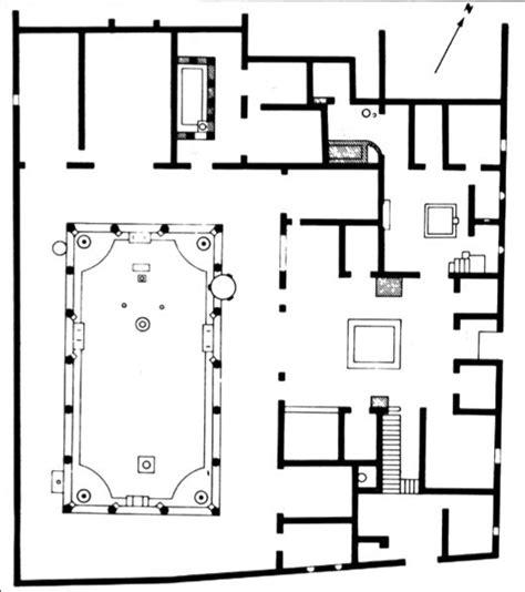 house of the vettii floor plan pompeii italy pompeii and italy on