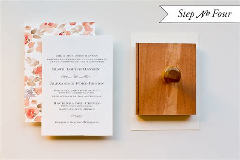 invitation rubber st step by step diy wedding invitations wedding invitation