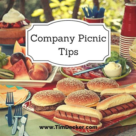 company idea company picnic ideas tips for throwing a but