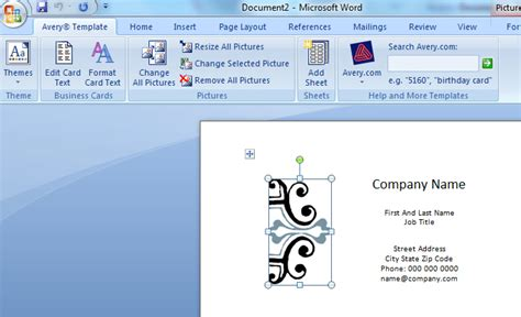 how to make business cards in microsoft word how to make business cards in word