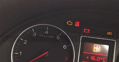 Audi Airbag Light by Reset Air Bag Indicator Audi A4 B6 Reset Service Light