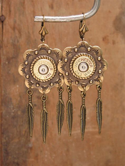 how to make jewelry from bullet casings bullet casing jewelry southwest style bullet casing by