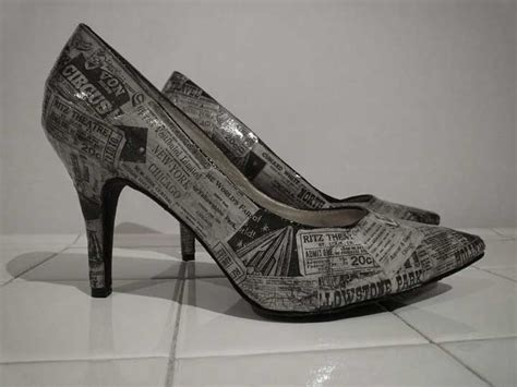 decoupage shoes with paper 1000 ideas about decoupage shoes on decoupage