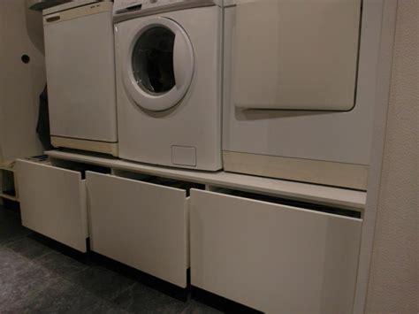 Tafel Wasmachine Ikea by Was En Droog Machine Verhoging Met Laden Afmeting