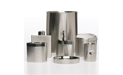 bathroom stainless steel accessories hudson park quot executive quot stainless steel bath accessories