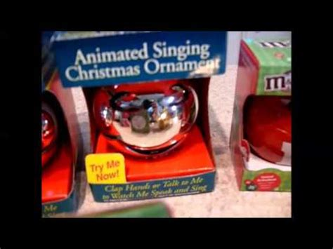 animated singing ornament vintage animated singing ornaments