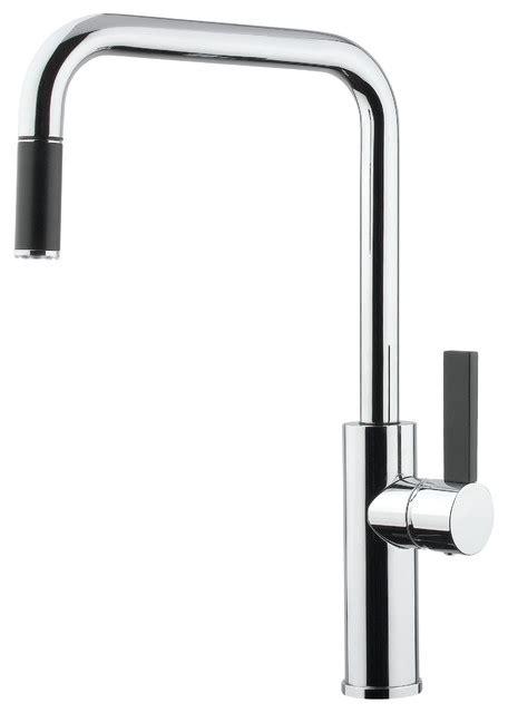 modern kitchen faucets luz mono shower faucet brushed nickel modern kitchen faucets other by maestrobath