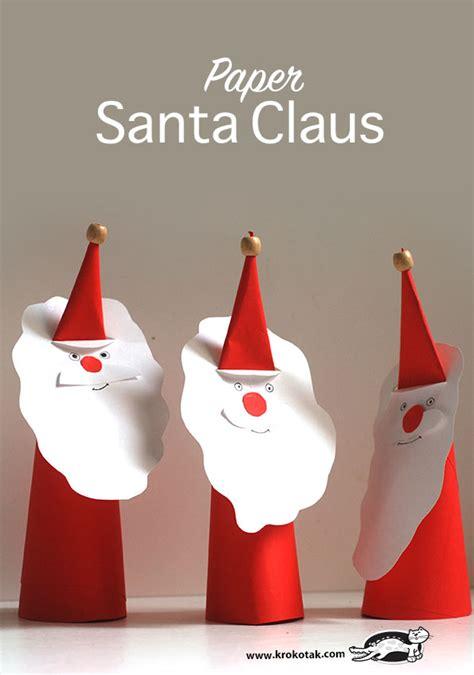 Krokotak Paper Santa Claus