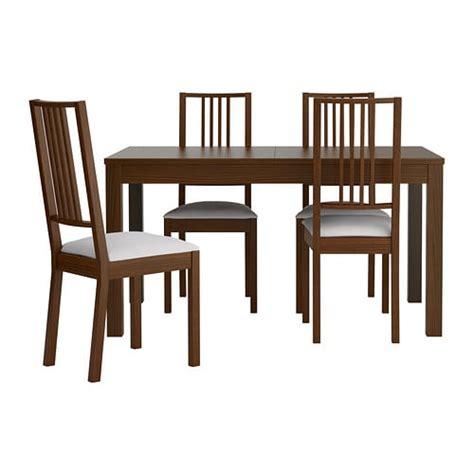 Tafel Ikea Fusion by Bjursta B 214 Rje Table Et 4 Chaises Ikea